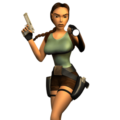 Lara Croft. Tomb Raider  Core Design i publicat per Eidos Interactive